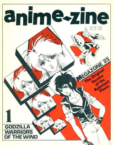 Robert Fenelon was founding editor of Anime-zine and godfather of Anime UK