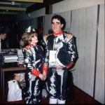 At Fanderson 82 as Atlanta Shore with Steve as Troy Tempest