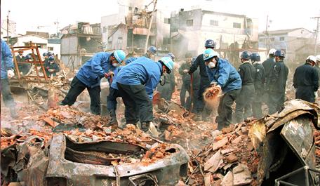 After the Kobe earthquake