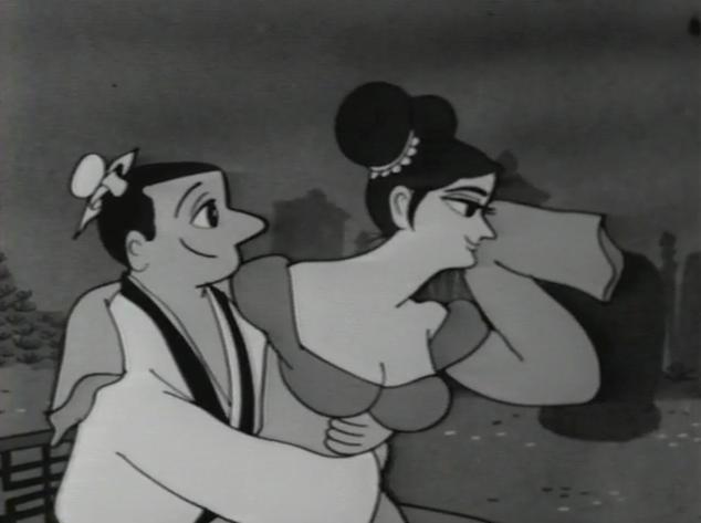 Sennin Buraku - late night anime from 1963