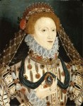 Elizabeth I 1575-80, usually credited to the school of Gheeraerts