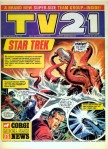 Star Trek by Mike Noble: TV21 cover story