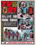 Captain Scarlet by Mike Noble: TV21 cover story