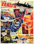 Zero X - a spinoff from 'Thunderbirds', art by Mike Noble in TV21