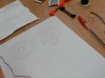 Graph paper, pen, inspiration, concentration - and you're a stitch designer!