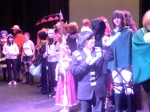 Cosplayers onstage at S-Con