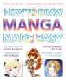 The cover for How To Draw Manga. Love the typography, simple & attention-grabbing.
