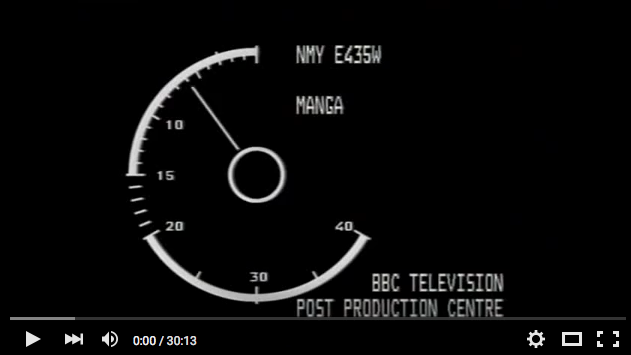 Straight from BBC Post Production...